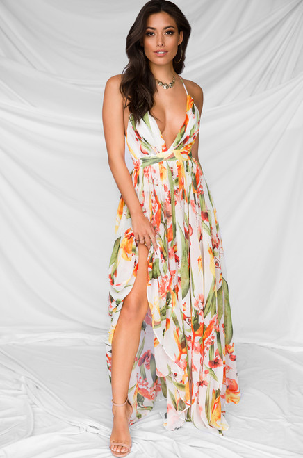 Four Seasons Dress - White