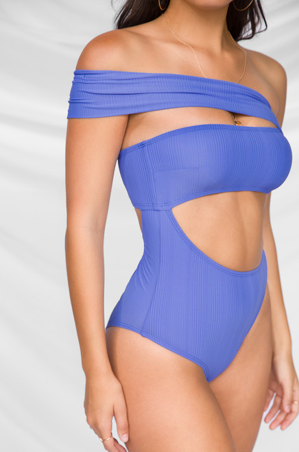 Sun City Swimsuit - Blue