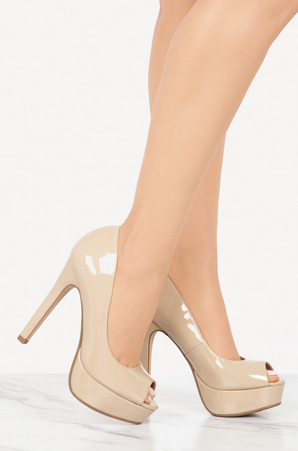 Too Proud - Nude Patent perfect cheap price DhQH0VGKW