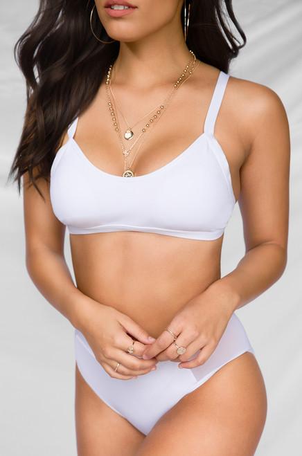 100 Degrees Bikini Set - White