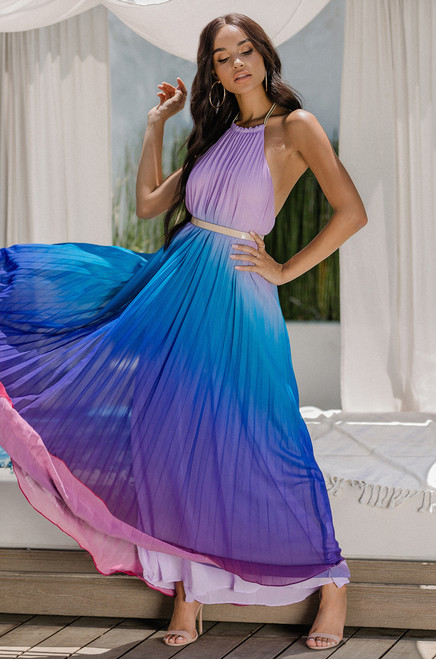 Sun-Dancer Dress - Purple