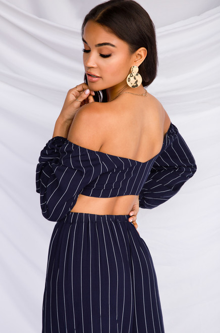 Expect The Unexpected Top - Navy