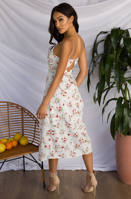 Second To None Dress - Floral