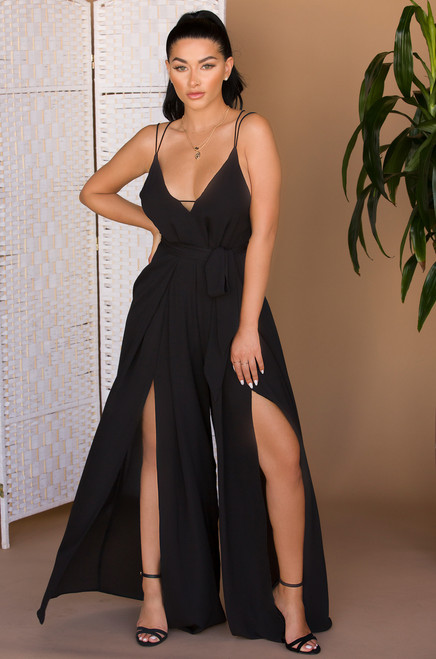 Rise Up Jumpsuit - Black