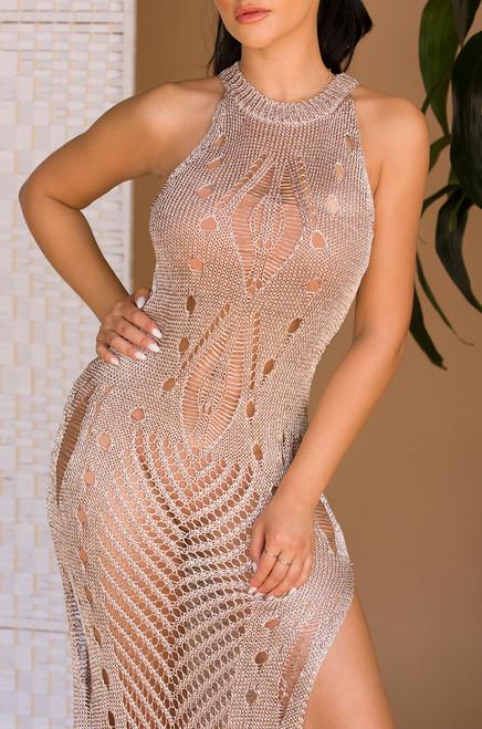 So Damn Glam Dress - Pink