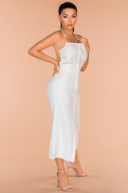 Venetian Dress - White