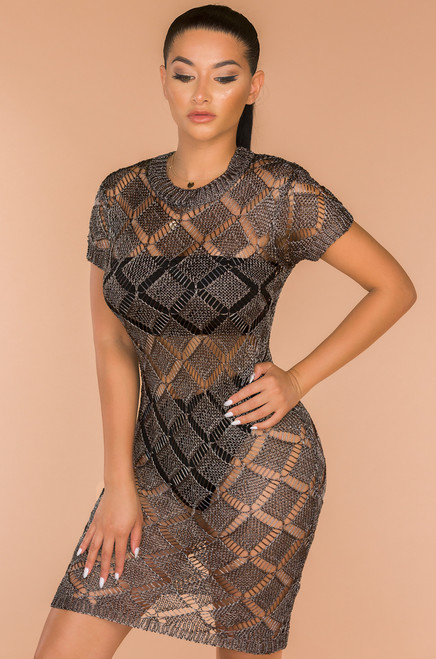 With Passion Dress - Grey