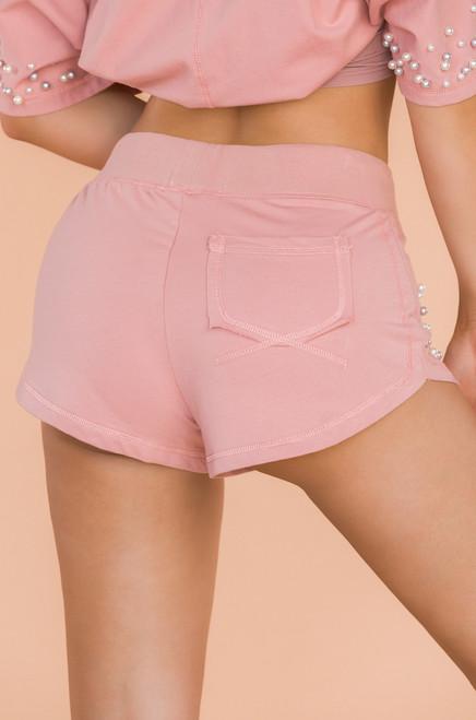 Precious Gem Shorts - Mauve