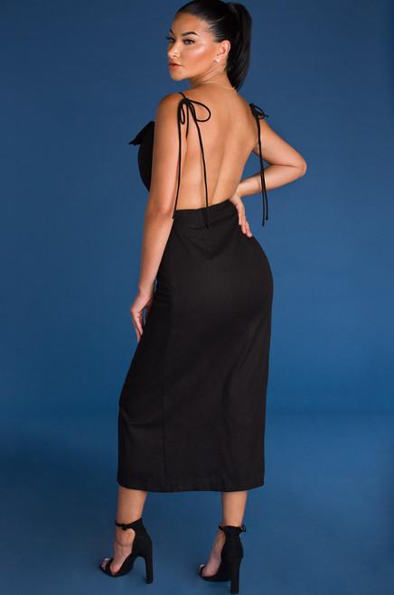 Venetian Dress - Black