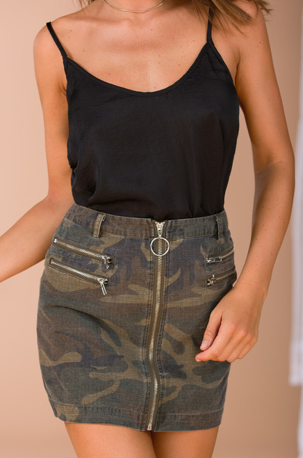 On-Duty Skirt - Camouflage