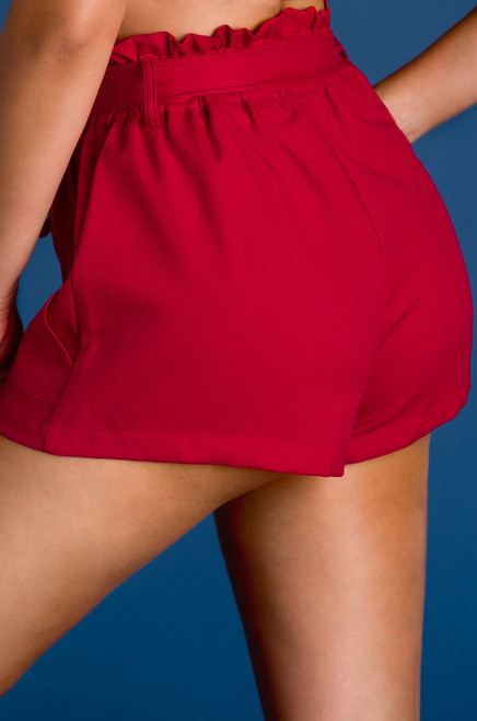 Pay Raise Shorts - Red
