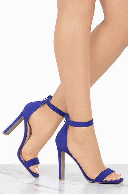 Excelsior - Royal Blue Suede