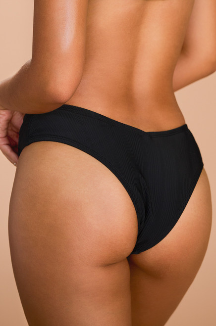 Chase The Chaos Swim Bottom - Black