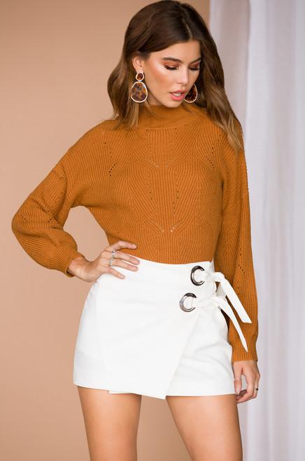 Sweet Believer Skirt - White