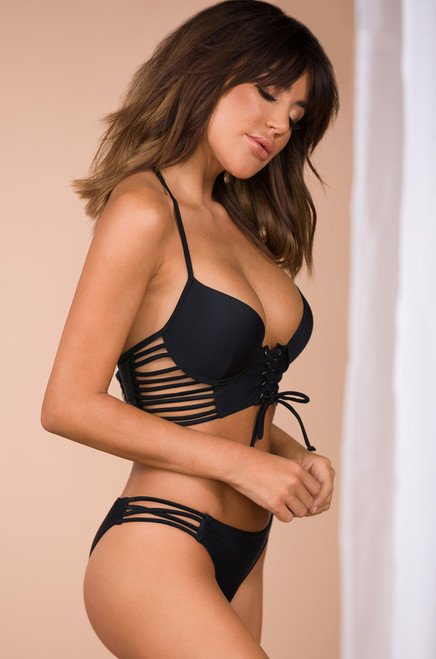 Friends with Benefits Swimsuit - Black
