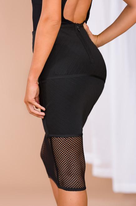 I Call the Shots Skirt - Black