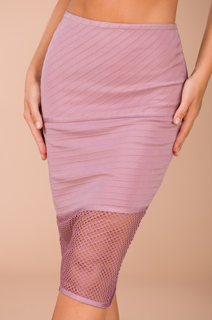 I Call the Shots Skirt - Rose