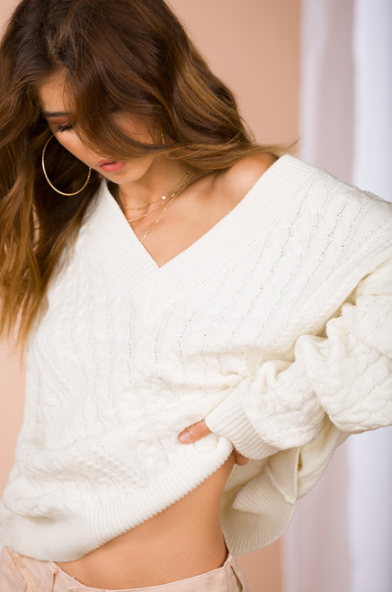 Sew in Love Sweater - Ivory
