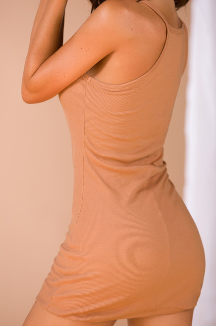 Casual Relationship Dress - Spice