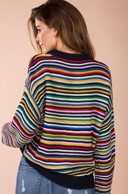 Read My Aura Sweater - Multi