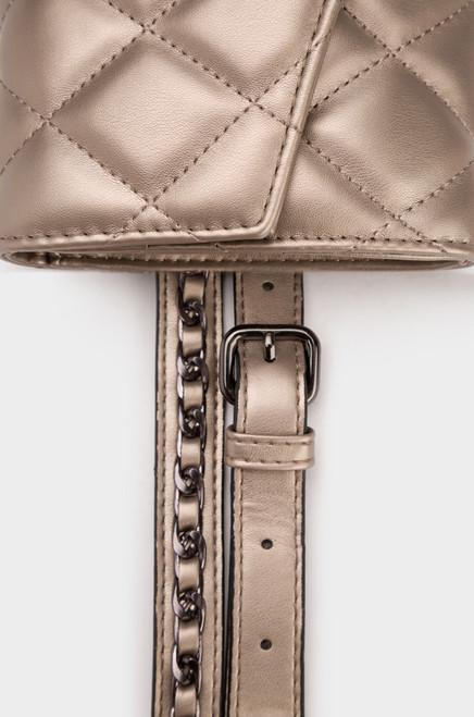 Bryn Belt Bag - Pewter