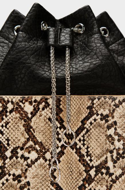 Viper Bucket Bag - Snake