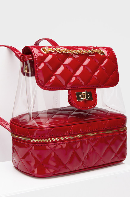 Posh Backpack - Red