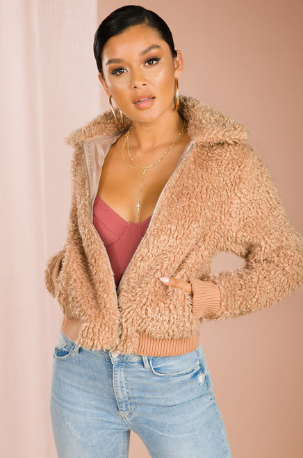 Arctic Feels Jacket - Taupe