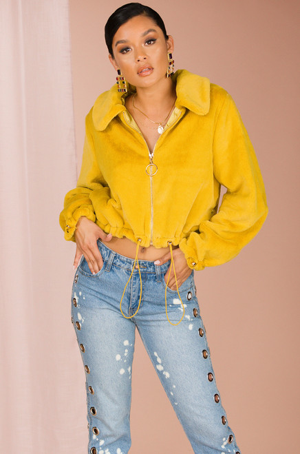 Smooth Operator Jacket - Mustard