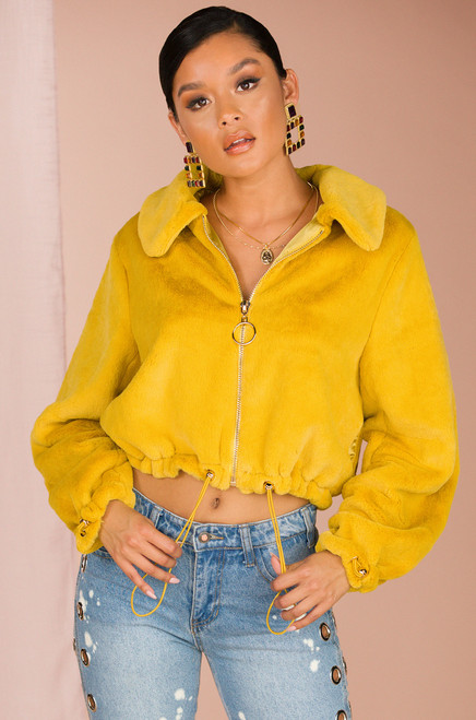 Smooth Operator Jacket - Mustard