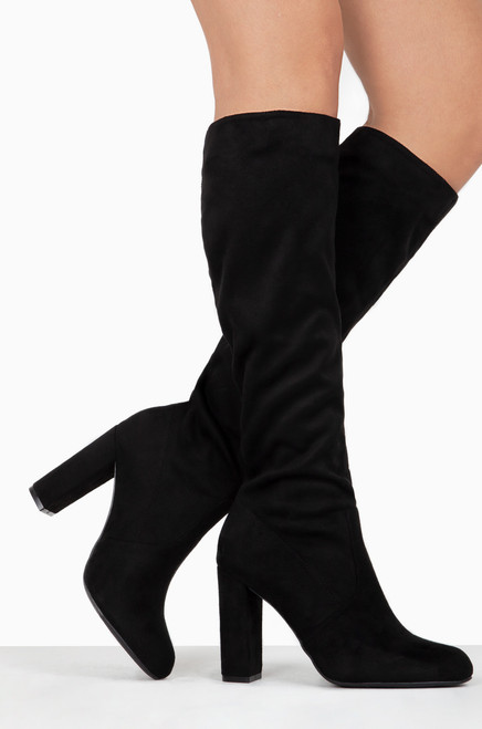 Toxic Affair - Black Suede