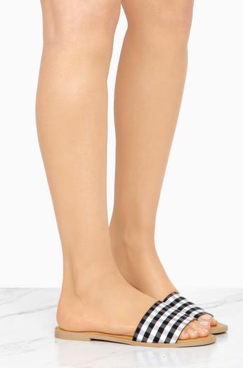 24203f73a6 Akira Metallic Stiletto Heel Open Toe Plastic Jeweled Strappy ...