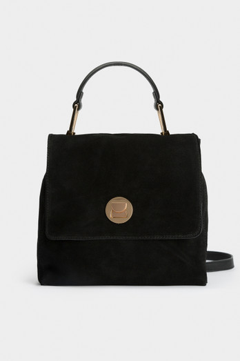 Harlow Backpack   Black by Lola Shoetique