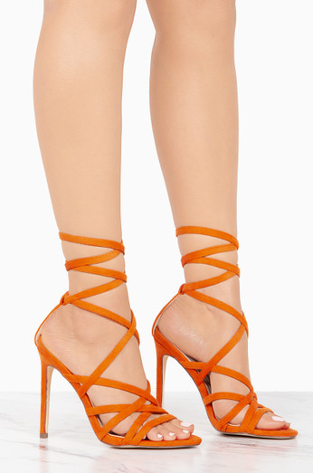 Zephyr   Orange by Lola Shoetique