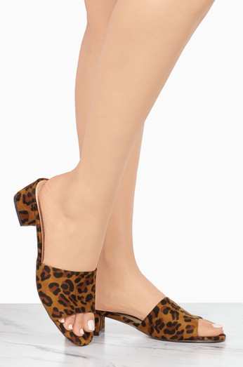 Cleo   Leopard by Lola Shoetique