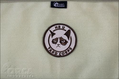 Grumpy Cat - Tard Corps - Morale Patch - Desert
