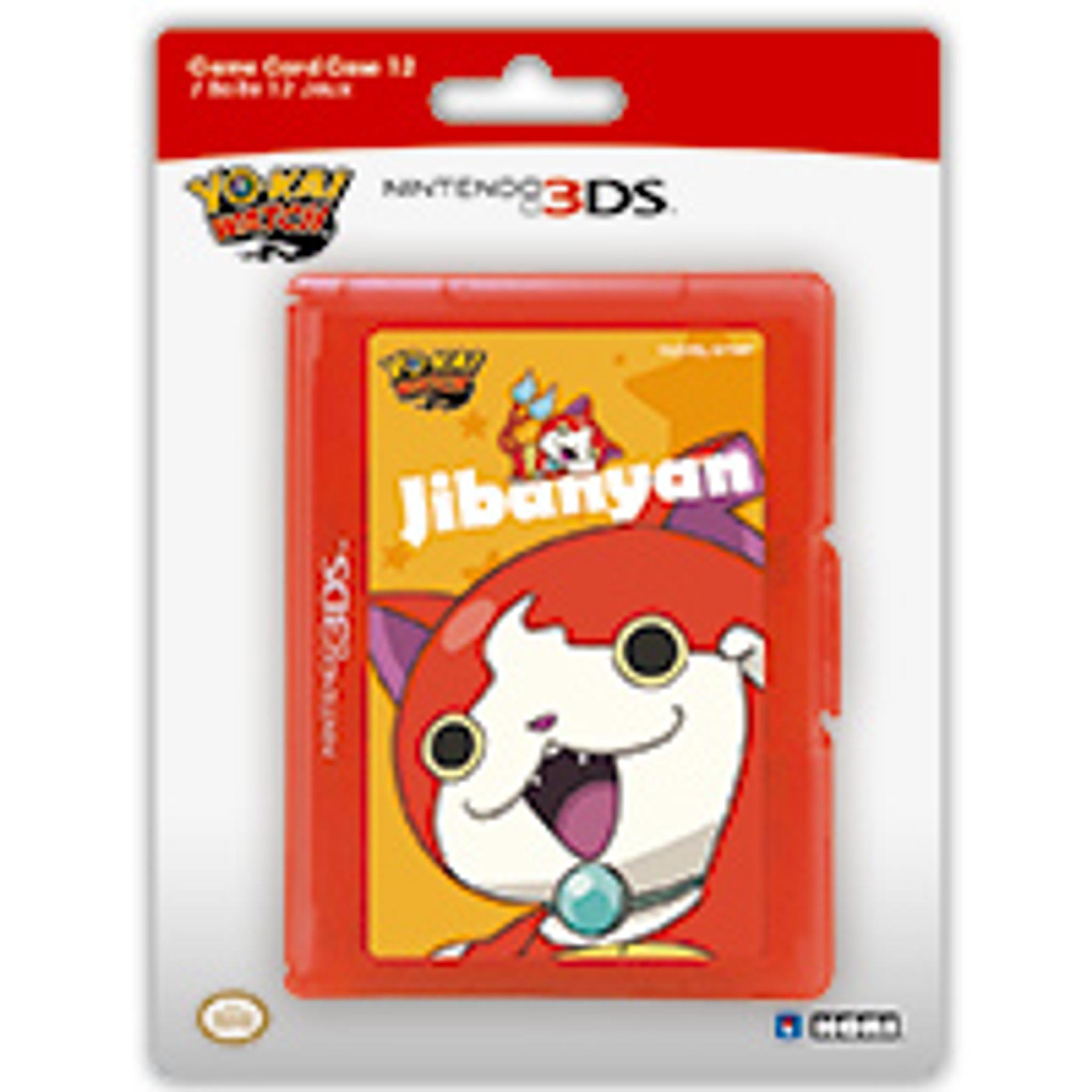 Yo-Kai Watch Game Card Case 12 (Jibanyan) for Nintendo 3DS