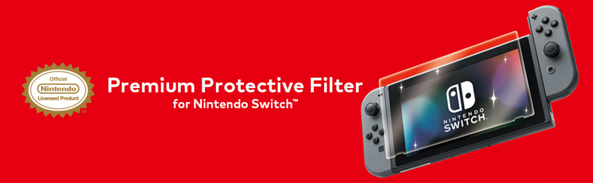 Premium Protective Filter for Nintendo Switch