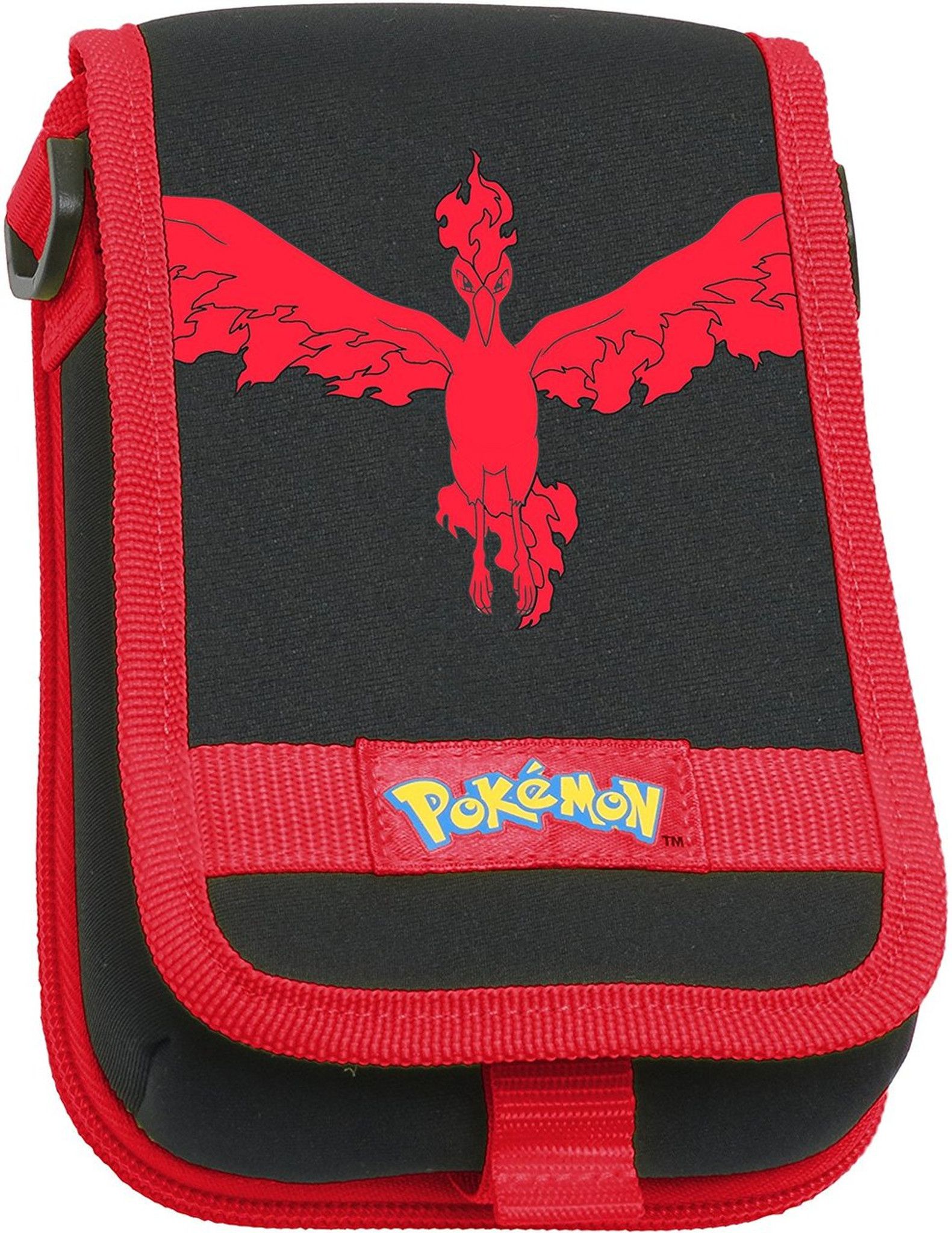 Pokemon Moltres Travel Pouch - Red for Nintendo 3DS XL