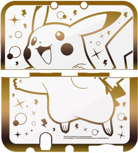 Premium Gold Pikachu Protector for the New Nintendo 3DS XL