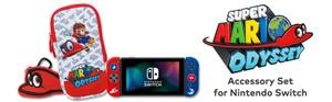Super Mario Odyssey Accessory Set for Nintendo Switch