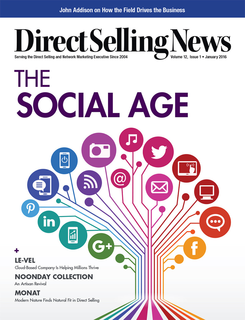 Direct Selling News - January 2016