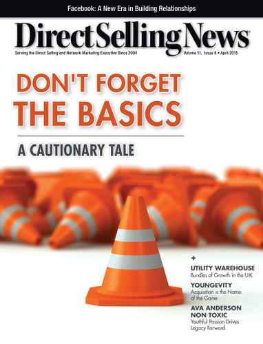 Direct Selling News - April 2015