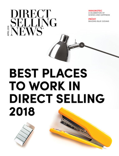 Direct Selling News - April 2018