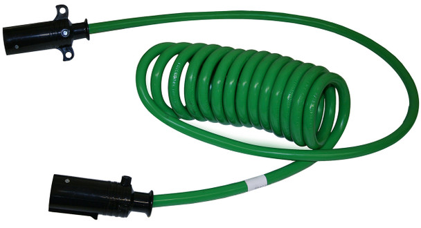 Stallion Power Truck Electrical Coiled Cable ABS Duty - Long Leads