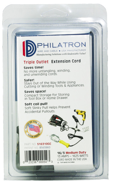 Triple Outlet Power Cord