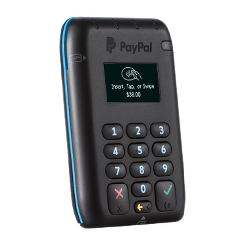 Paypal here card reader store paypal chip card reader reheart Images