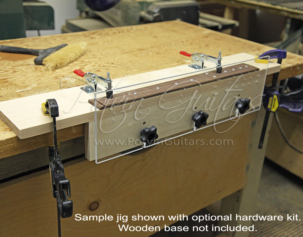 Fretboard Side Dot Drilling Jig