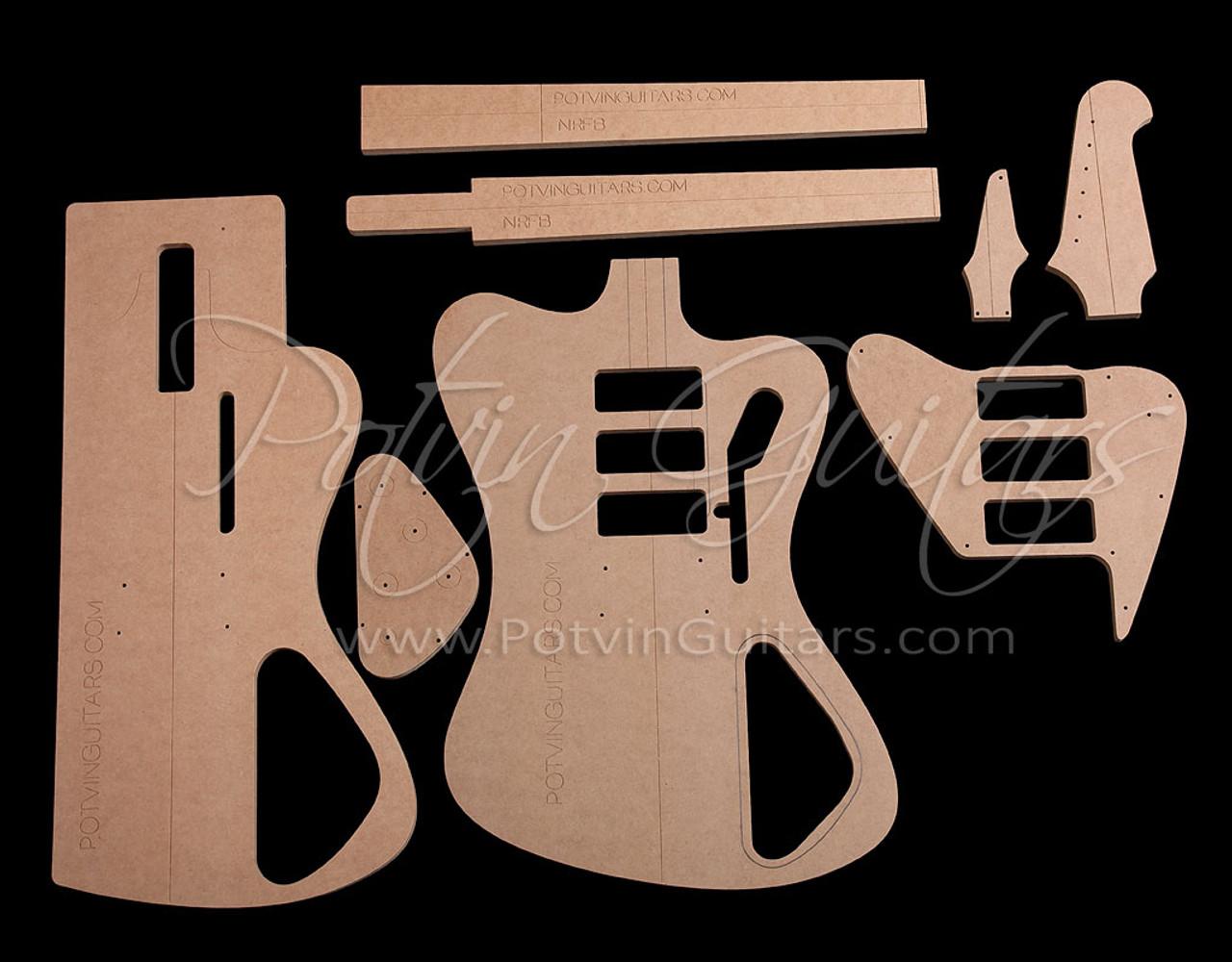Non-Reverse FB-Style neck template set