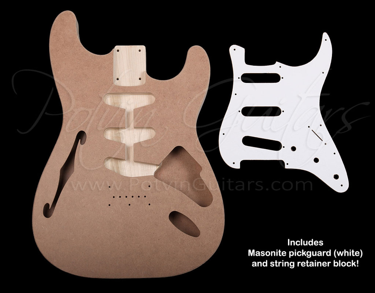 Danelectro™ inspired S-Style Thinline Body